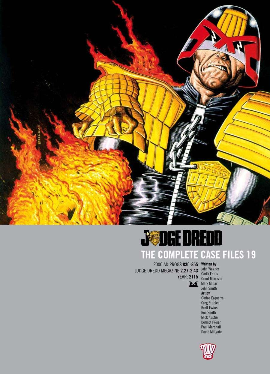 Judge Dredd: The Complete Case Files #19