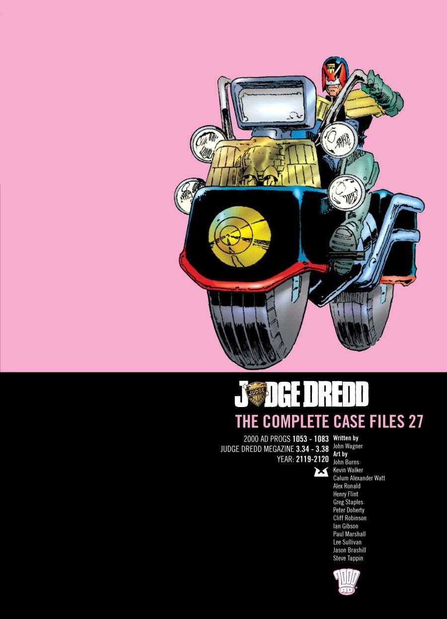 Judge Dredd: The Complete Case Files #27