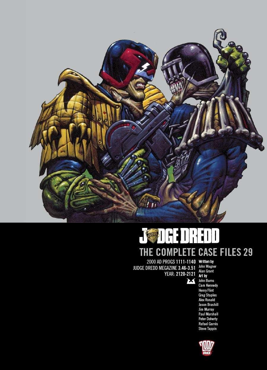 Judge Dredd: The Complete Case Files #29