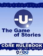 -U- The Game of Stories Core Rulebook