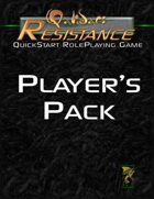 Qalidar: Resistance RPG Quick Start Player's Pack
