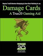 Damage Cards: A True20 Gaming Aid