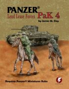 Panzer® PaK 4: Lend Lease Forces