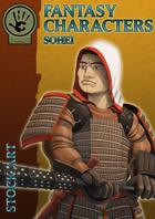 Fantasy Characters - Sohei stock art