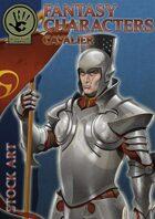 Fantasy Characters - Cavalier stock art