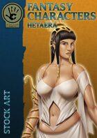 Fantasy Characters - Hetaera stock art