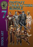 Fantasy Characters - Stock art bundle [BUNDLE]