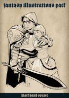 Fantasy illustrations pack