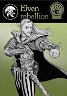 Elven rebellion - Stock art