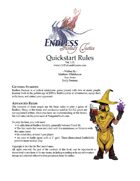 Endless: Fantasy Tactics - Quickstart Rules