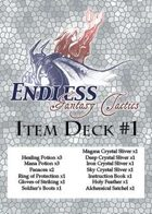 [Endless: Fantasy Tactics] Item Deck #1