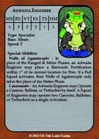 Brushfire - Scyzantine Stat Cards