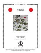Gear Krieg Card Model: Shiki 41
