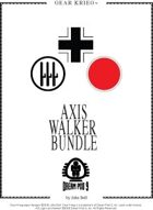 Gear Krieg Card Model: Axis Walkers [BUNDLE]