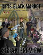 Rifts® Black Market Preview