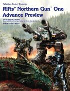 Rifts Northern Gun One Advance Preview