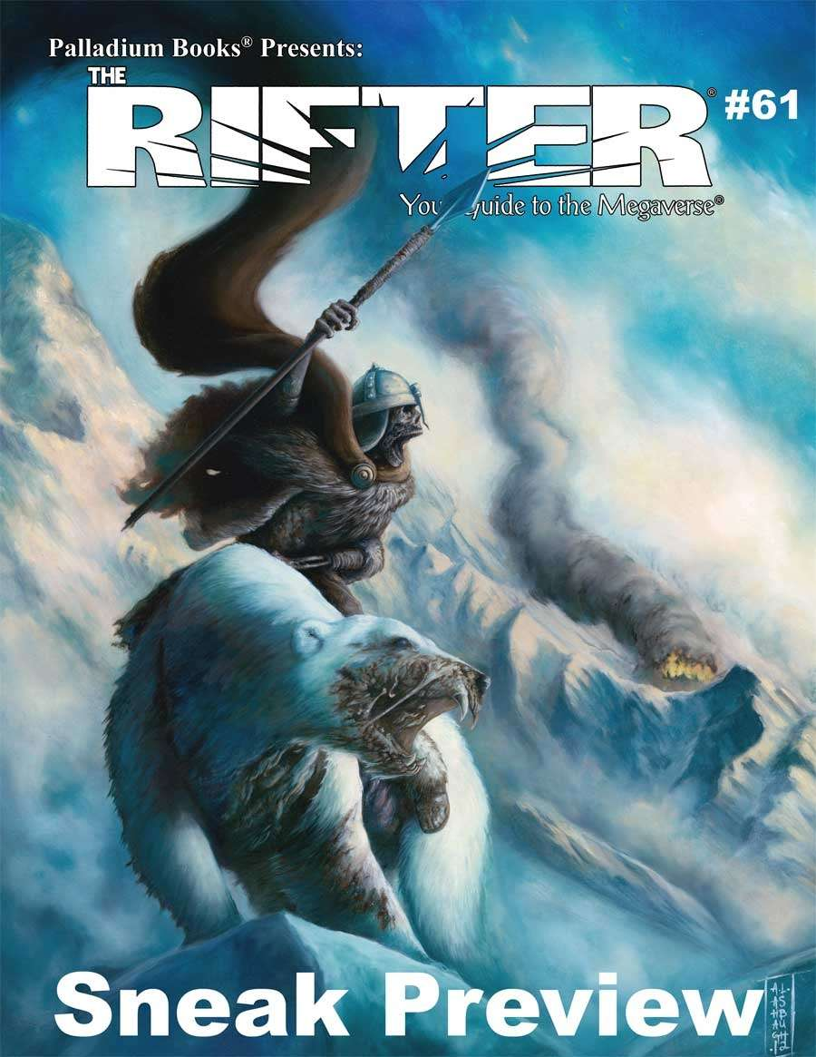 The Rifter® #61 Sneak Preview