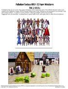 Palladium Fantasy RPG® Paper Miniatures #1: O.C.C.s