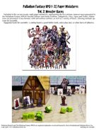 Palladium Fantasy RPG® Paper Miniatures #2: Monster Races