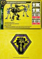 Malcontents Air Defense Squadron Card for Robotech® RPG Tactics™