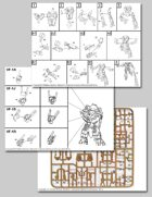 UEDF Valkyrie Battloid Mode Assembly Instructions for Robotech® RPG Tactics™