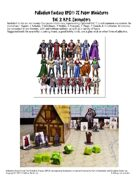 Palladium Fantasy RPG® Paper Miniatures #3: N.P.C. Encounters