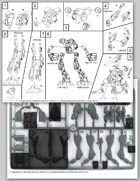 Zentraedi Glaug Officer's Battlepod Assembly Instructions for Robotech® RPG Tactics™