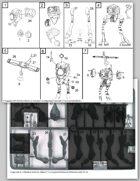 Zentraedi Quel-Regult Recon Battlepod Assembly Instructions for Robotech® RPG Tactics™