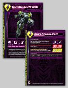 Zentraedi Queadluun-Rau Female Power Armor Stat Card for Robotech® RPG Tactics™