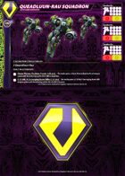 Zentraedi Queadluun-Rau Squadron Core Force Card for Robotech® RPG Tactics™