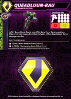 Zentraedi Queadluun-Rau Support Card for Robotech® RPG Tactics™
