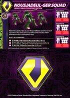 Zentraedi Nousjadeul-Ger Squad Support Card for Robotech® RPG Tactics™