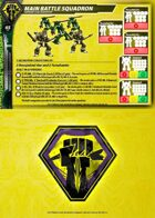 Malcontents Main Battle Squadron Core Force Card for Robotech® RPG Tactics™