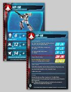 UEDF VF-1R Valkyrie Stat Card (Updated!) for Robotech® RPG Tactics™