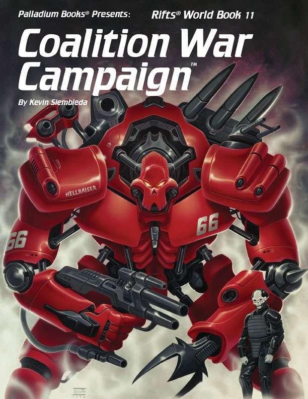 Rifts® World Book 11: Coalition War Campaign™