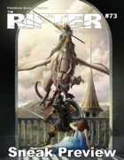 The Rifter® #73 Sneak Preview