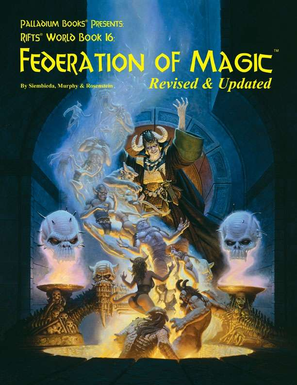 Drivethrurpg palladium books the largest rpg download store rifts world book 16 federation of magic revised fandeluxe Images