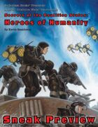 Rifts® Heroes of Humanity Sneak Preview