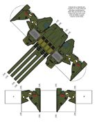 Paper Game Pieces: UEDF Wave 2 for Robotech® RPG Tactics™