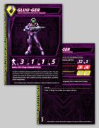 Zentraedi Gluu-Ger Light Infantry Stat Card for Robotech® RPG Tactics™