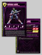 Zentraedi Serau-Ger Heavy Infantry Stat Card for Robotech® RPG Tactics™