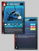 UEDF QF-3000 Ghost Stat Card for Robotech® RPG Tactics™