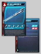 UEDF SF-3A Lancer II Stat Card for Robotech® RPG Tactics™