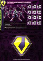 Zentraedi Heavy Infantry Squadron Card for Robotech® RPG Tactics™