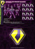 Zentraedi Light Infantry Squadron Card for Robotech® RPG Tactics™