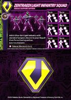 Zentraedi Light Infantry Squad Support Card for Robotech® RPG Tactics™