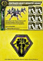 Malcontents Zentraedi Heavy Infantry Squad Support Card for Robotech® RPG Tactics™