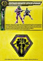 Malcontents Zentraedi Infantry Officer Upgrade Card for Robotech® RPG Tactics™