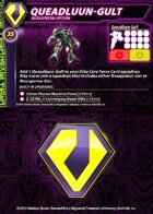 Zentraedi Queadluun-Gult Support Card for Robotech® RPG Tactics™