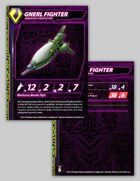 Zentraedi Gnerl Fighter Stat Card for Robotech® RPG Tactics™